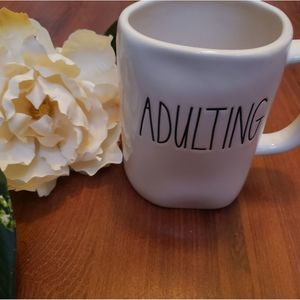 NWT Rae Dunn Adulting Coffee Mug